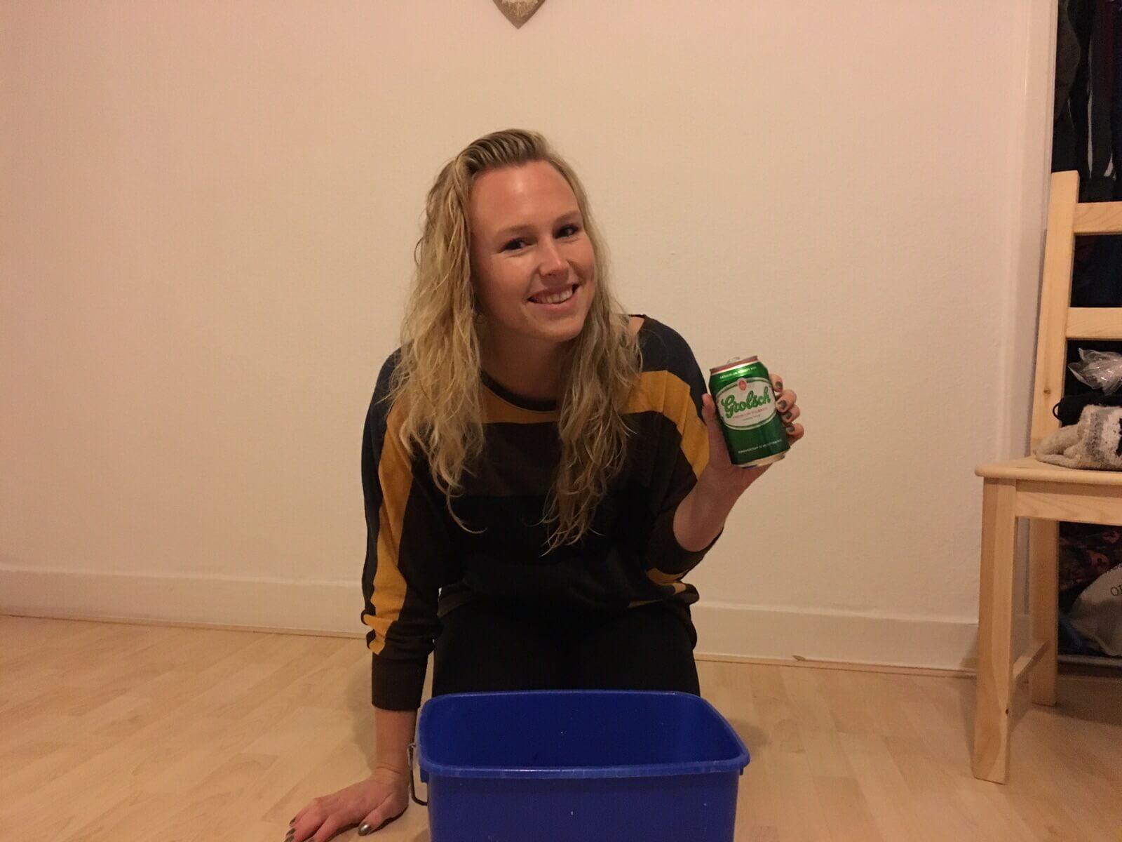 haar wassen met bier