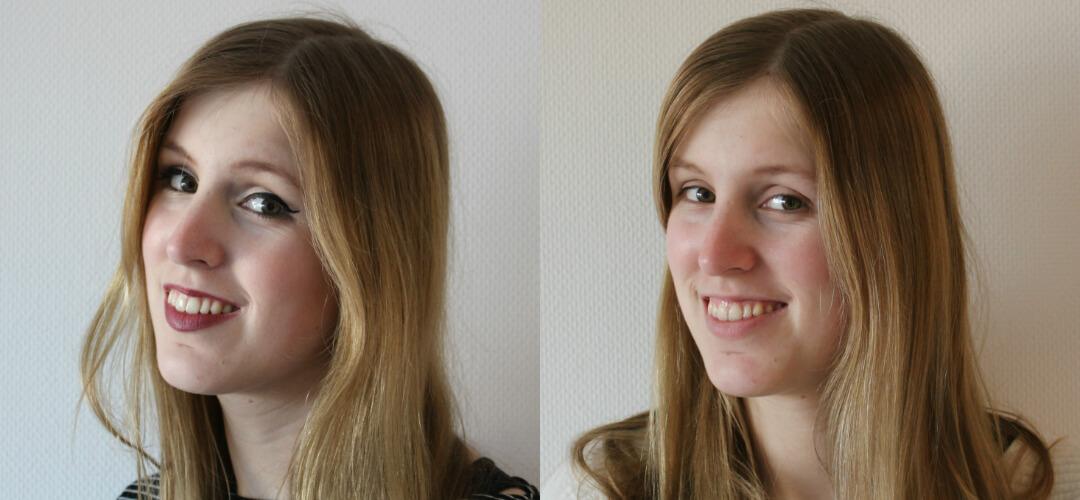 dag zonder make-up