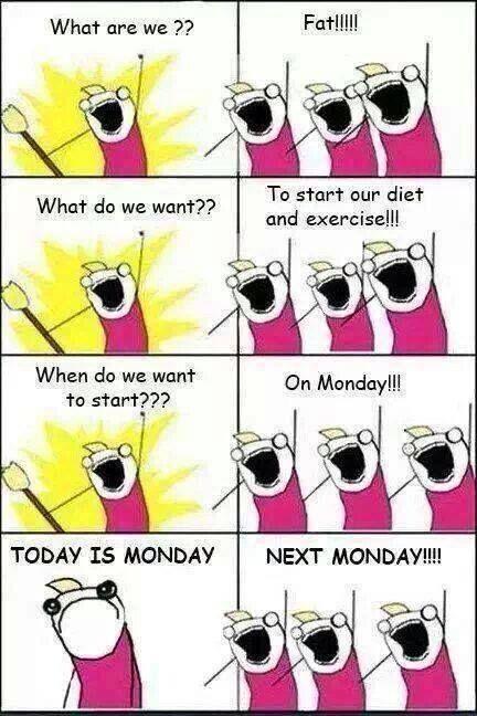 morgen op dieet