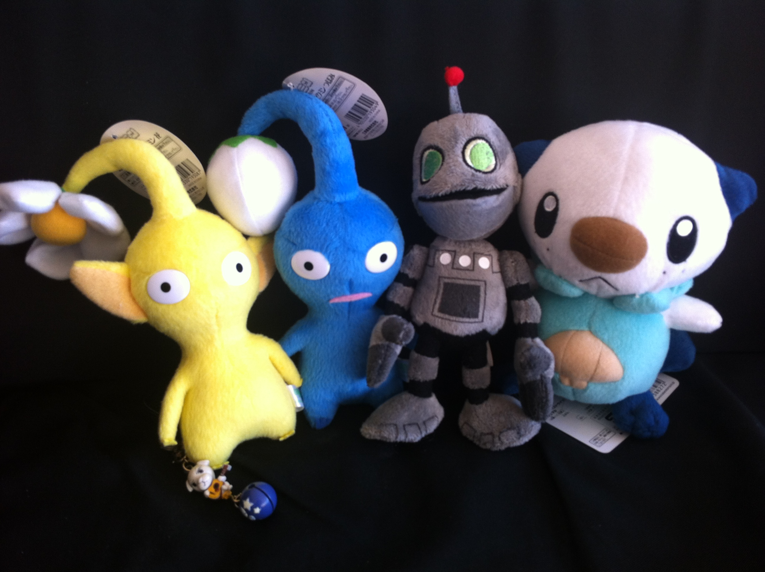 plush game characters