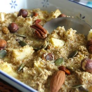 Recept Baked-oats-met-appel