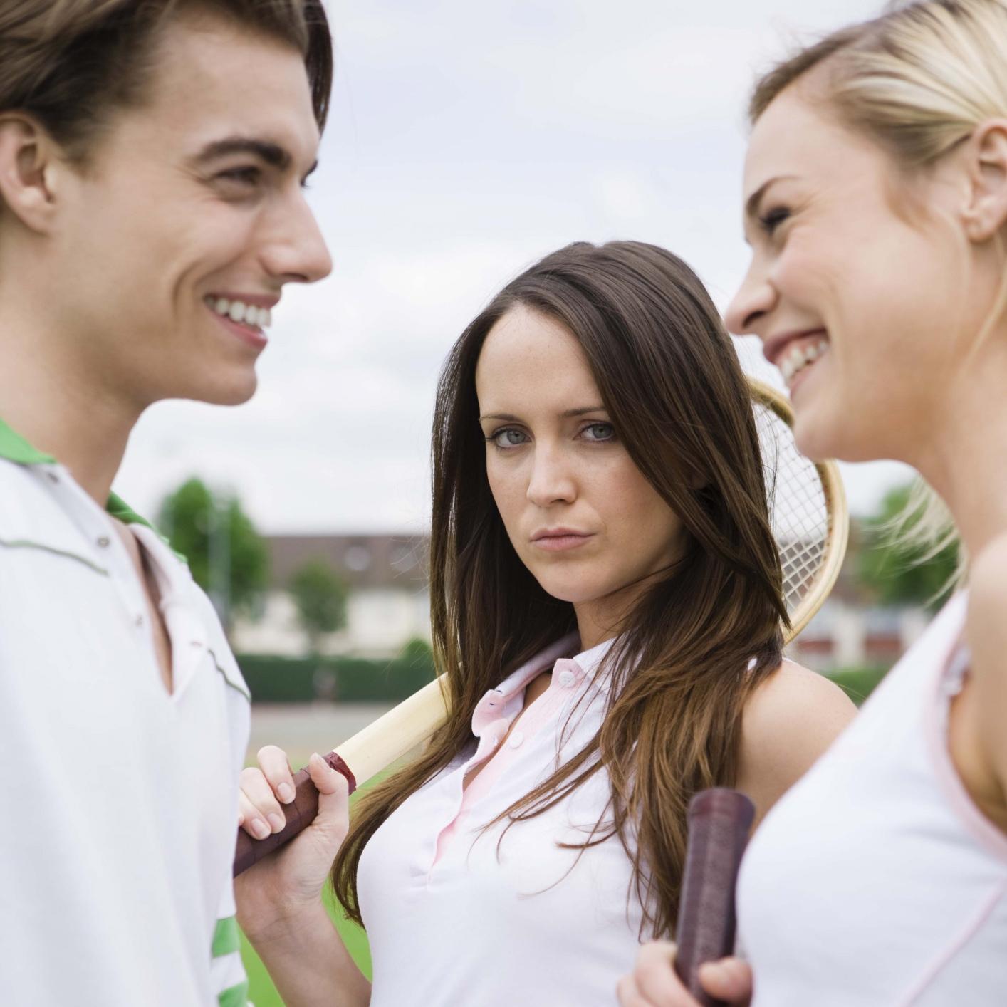 Hoe flirten verlegen vrouwen