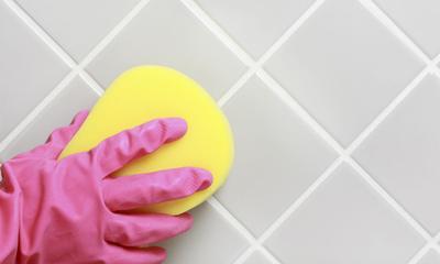 voegen badkamer schoonmaken