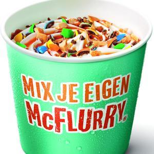 Mix je eigen McFlurry beker