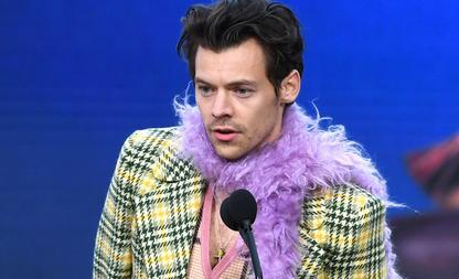 Harry Styles naakt