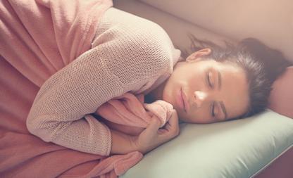 huid slapen