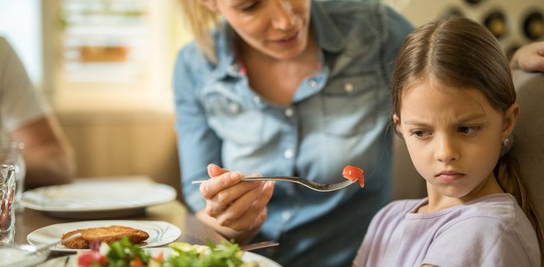 kinderen eten