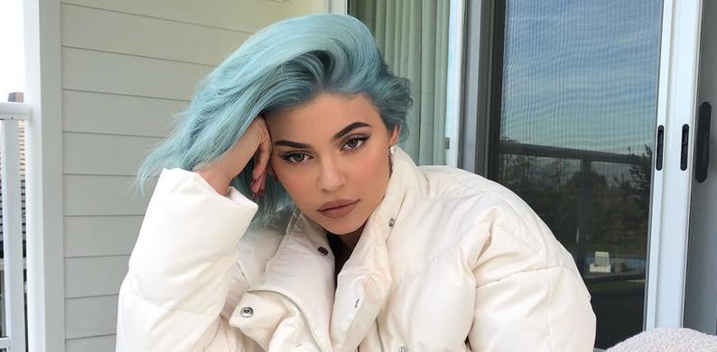 Icy blue haar