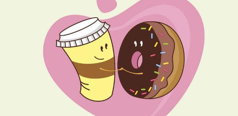 dunkin donuts valentijn