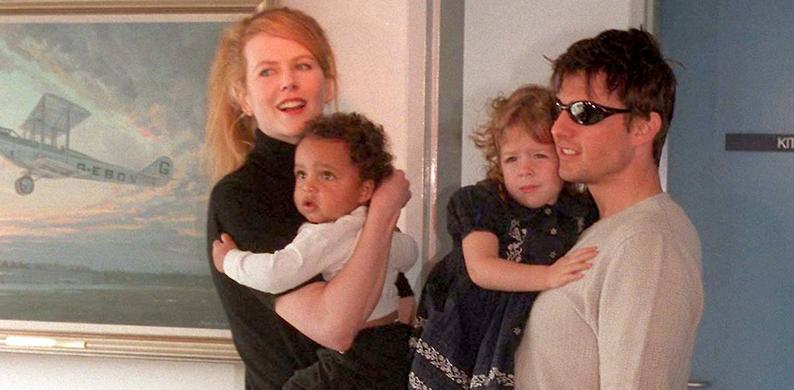 dochter Tom Cruise en Nicole Kidman