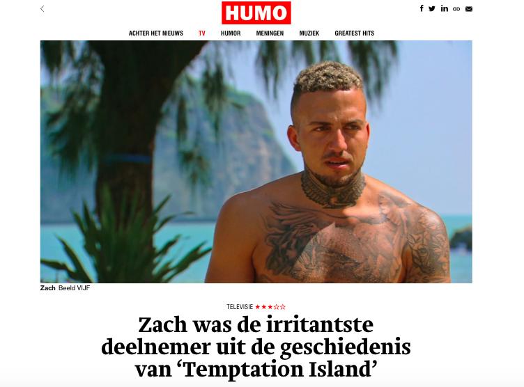 belgische column zach
