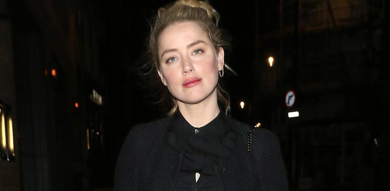 Amber Heard jurk