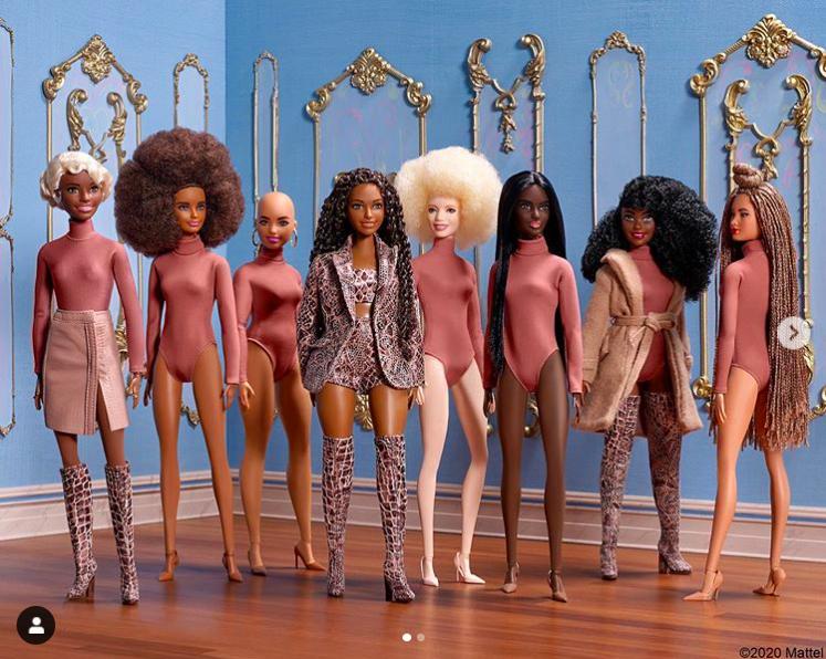 black history month barbie viva