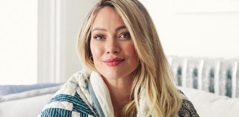 Hilary Duff bevallen BP