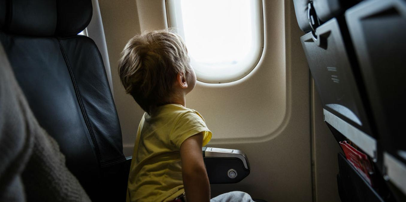 vliegen met kind