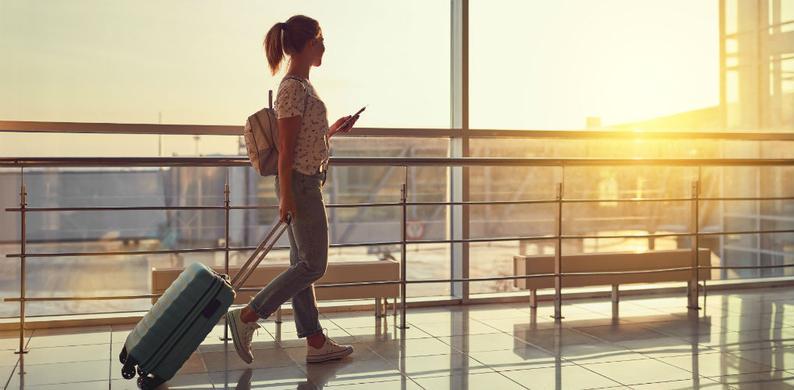 Vliegveld boarding pass