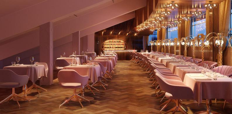roze restaurant mama kelly amsterdam
