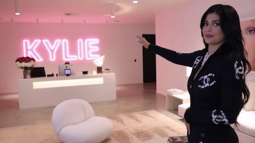 official Kylie Jenner office tour viva 17102019
