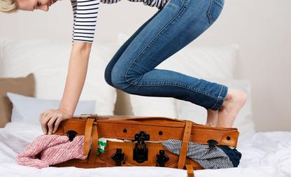 koffer kledingstukken
