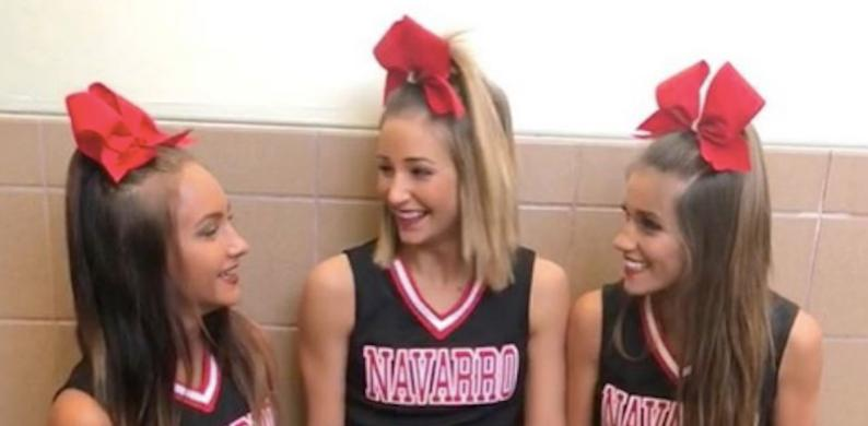 navarro cheerleaders