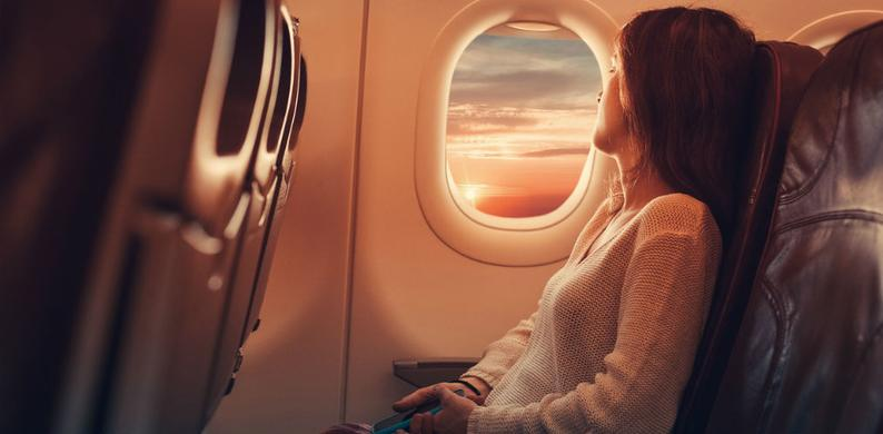 raam vliegtuig