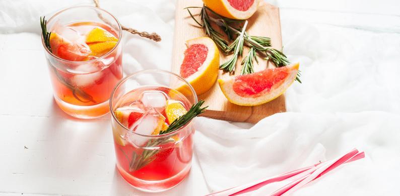 Geurkaarsen prosecco gin