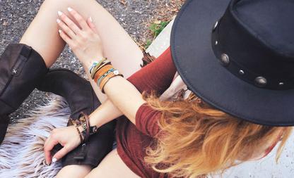 armband omdoen bij jezelf