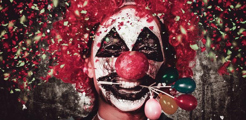 bang voor clowns