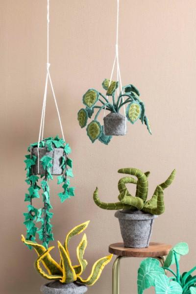 kinderkamer hangplanten