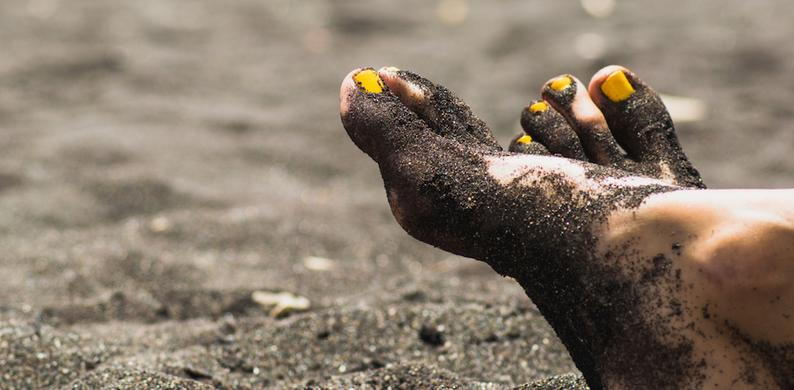zandvrije voeten