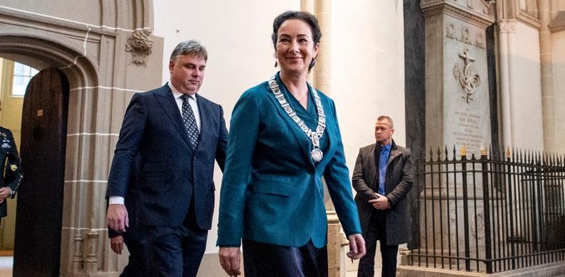 Vrouwelijke burgemeester