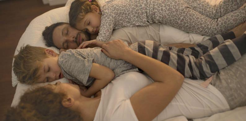 samen slapen met je kind