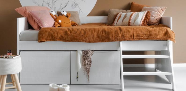 interieurstyling voor kids bedbank