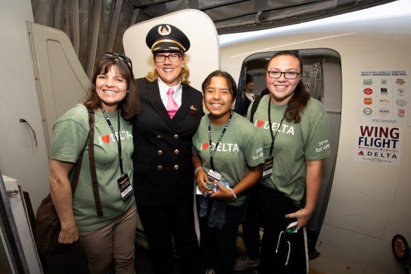 vrouwen in de luchtvaart