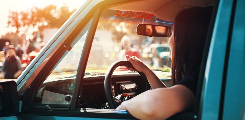 vermoeid rijden