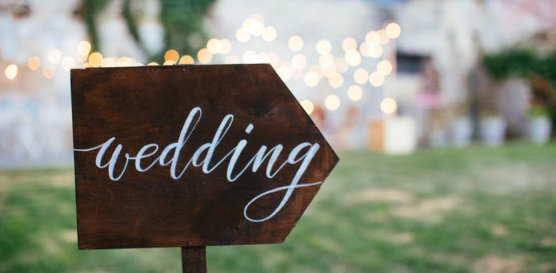 spannende bruiloft