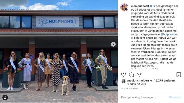 monique westenberg miss nederland