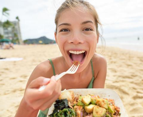 eten bestellen strand