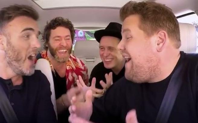 carpool karaoke take that