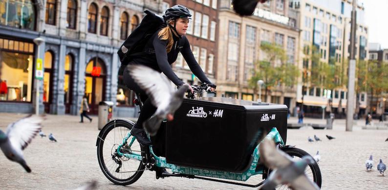 fietskoeriers voor online bestellingen