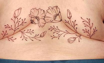 vetrolletje tattoo