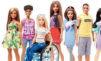 barbie lichamelijke beperking