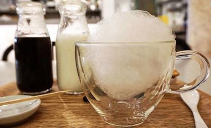 suikerspinkoffie