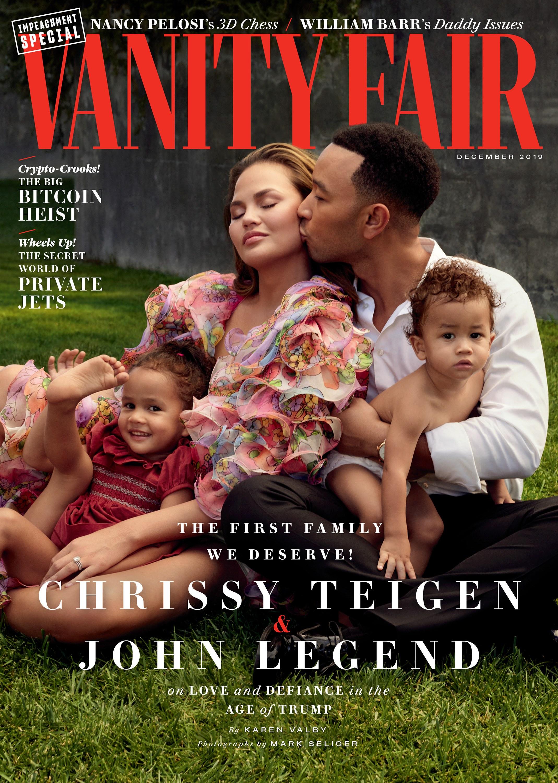 vanity fair december 2019 cover