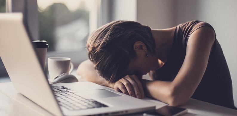 werk vermoeidheid vrouwen