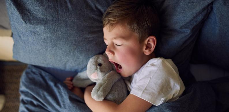 Avondritueel slapen