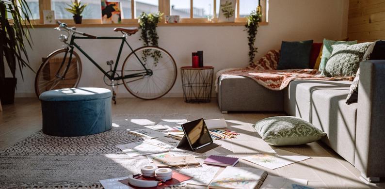 Het opruimen van je huis helpt bij depressieve gevoelens