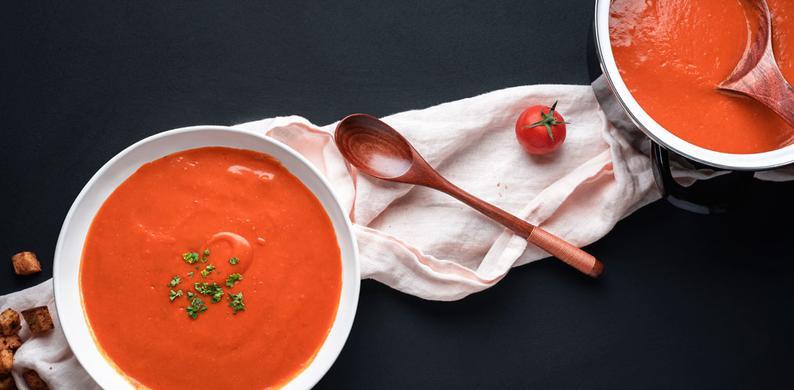 snelle tomatensoep