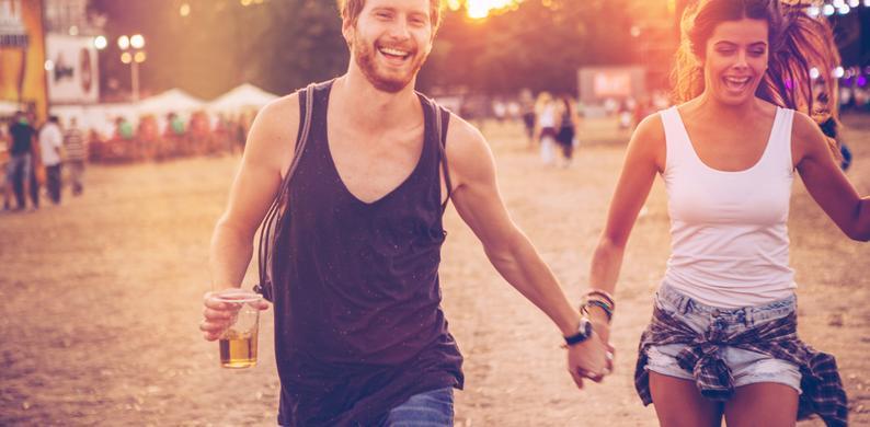 calorieën verbranden festival