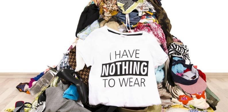 kledingverspilling